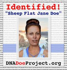 DNA evidence and genealogy help to ID a murder victim and
